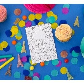 ชุดอุปกรณ์กระดาษสำหรับปาร์ตี้