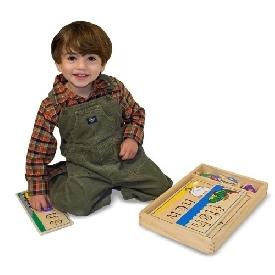 กระดานไม้สอนคำศัพท์