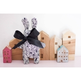 Funny bunny doll - small