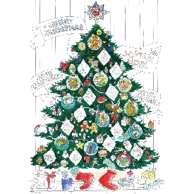 Coloring poster - christmas
