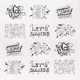 Happy messages-postcards
