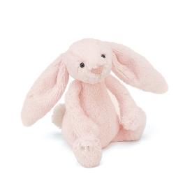 Bashful pink bunny rattle 18 cm
