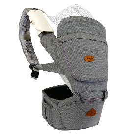 I-angel - light hip seat+carrier - charcoal