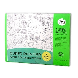Super Painter Giant Coloring Poster Pads -Prehistoric Era