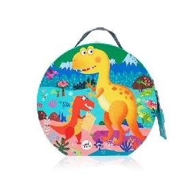 Dinosaur playground puzzle