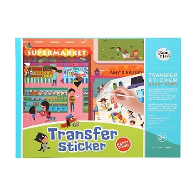 Transfer Sticker - Happy town