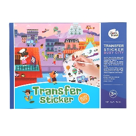 Transfer Sticker - Busy city