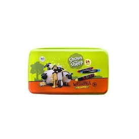 Shaun the sheep silky crayons-24