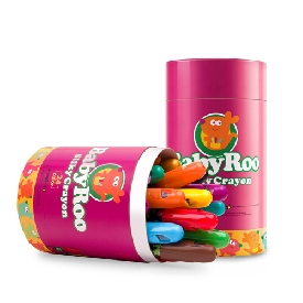 Baby roo silky crayon 12 colors
