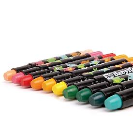 สีเทียนเนื้อนุ่ม 24 สี