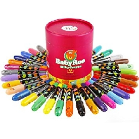 Baby roo silky crayon 36 colors