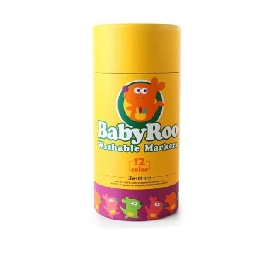 Baby Roo Washable Markers 12 colors