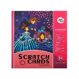 Scratch Cards Set - Cinderella