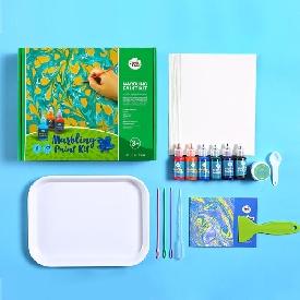 ชุดสี marbling paint kit