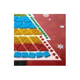 Christmas mosaics painting