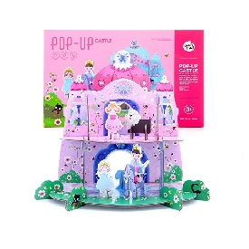 Joan miro pop up puzzle princess castle