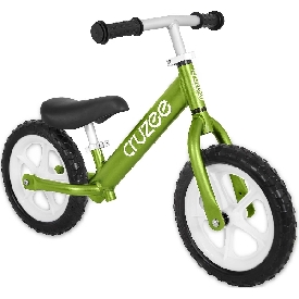 Cruzee UltraLite  Balance Bike Green