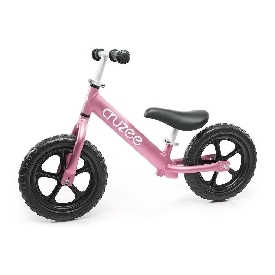 Cruzee  Bike - Pink with Black Wheels