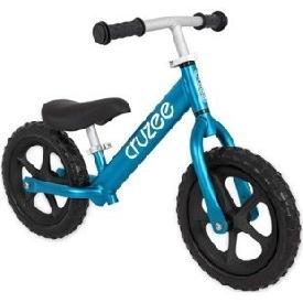 จักรยานขาไถครูซซี่ 2021 สีฟ้าซัพฟาย + ล้อดำ