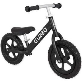 Cruzee Bike - Black with Black Wheels
