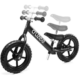Cruzee UltraLite  Balance Bike Black