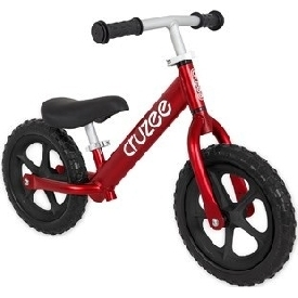 Cruzee UltraLite  Balance Bike Ruby Red