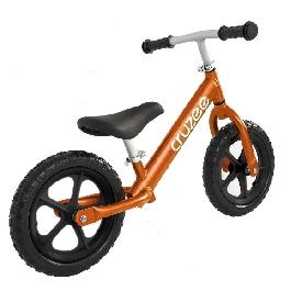 จักรยานขาไถครูซซี่สีส้ม + ล้อดำ
