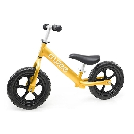 Cruzee Bike - Yellow Sapphire with Black Wheels