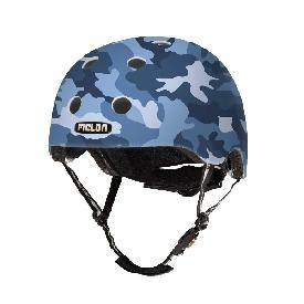 หมวกกันน็อก 46-52 cm สีฟ้าทหาร