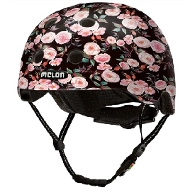 หมวกกันน็อก 46-52 cm ลายสวนกุหลาบ
