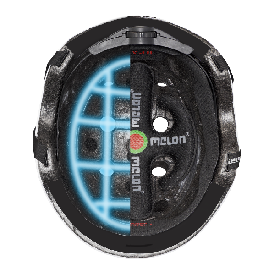 Melon helmet - synapse (46-52cm)