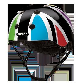 Melon Helmet - Union Jack Harlekin (46-52cm)