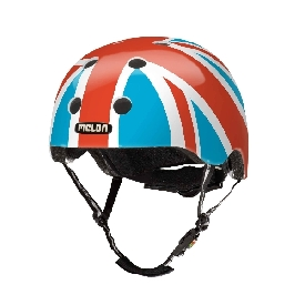 Melon Helmet - Union Jack Summer Sky (46-52cm)