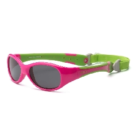 Sunglasses Explorer - Cherry Pink/Lime