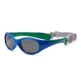 Sunglasses explorer - royal/green