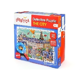 The city detective puzzle 108 pcs