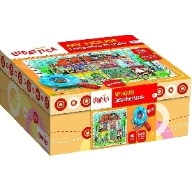 My house detective puzzle 108 pcs