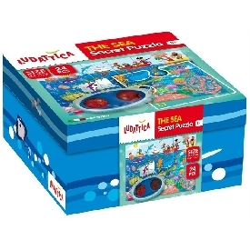 LUDATTICA SECRET PUZZLE 24 PCS IN SPACE