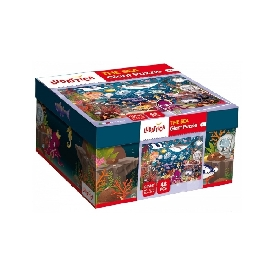 Ludattica giant puzzle 48 pcs the sea