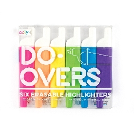 Do over highlighters (6 colors)