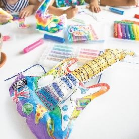 3d colorables - rockin guitar