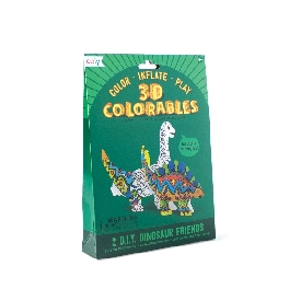 3d colorables - dinosaur friends