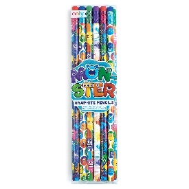 Monster graphite pencils (12pcs)
