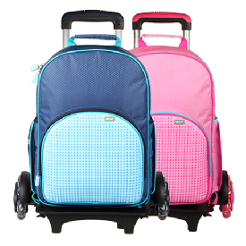 Upixel super class rolling backpack