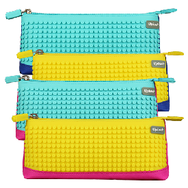 Upixel bright colors pencil case