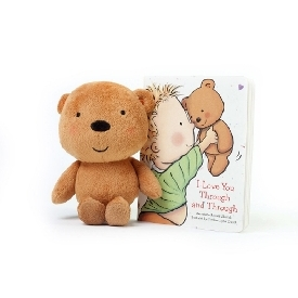 I love you through and through, board book and plush