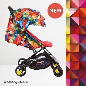 Cosatto - รถเข็นเด็ก ลาย spectroluxe
