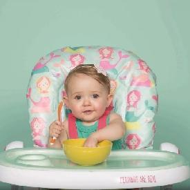 Cosatto - เก้าอี้ทานข้าว รุ่น noodle ลาย mini mermaids