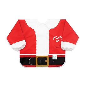 Bumkins Costume Sleeved Bib – Santa