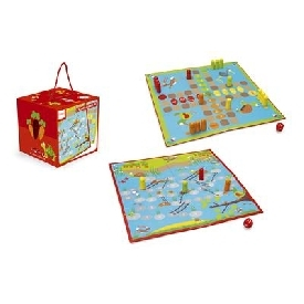 2 board games garden